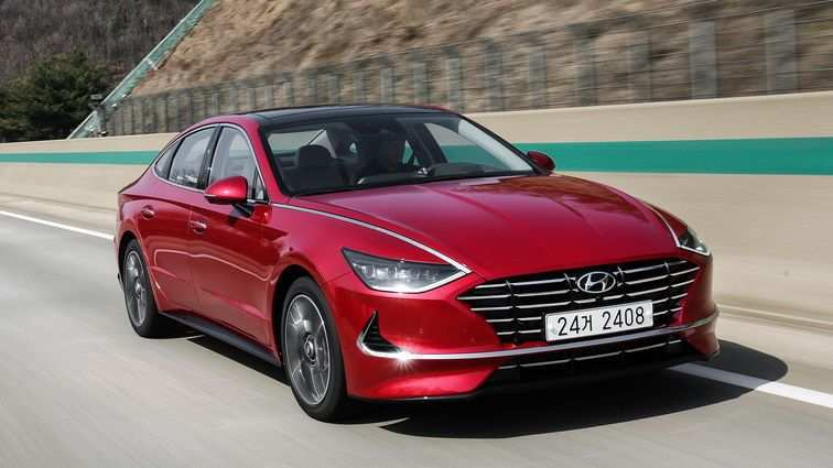 81 The Hyundai Sonata 2020 Release Date Performance And New Engine
