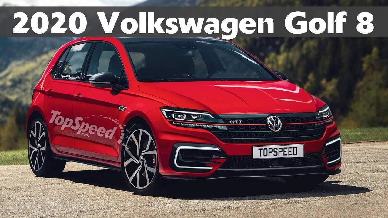 81 The Volkswagen Golf Gti 2020 Model