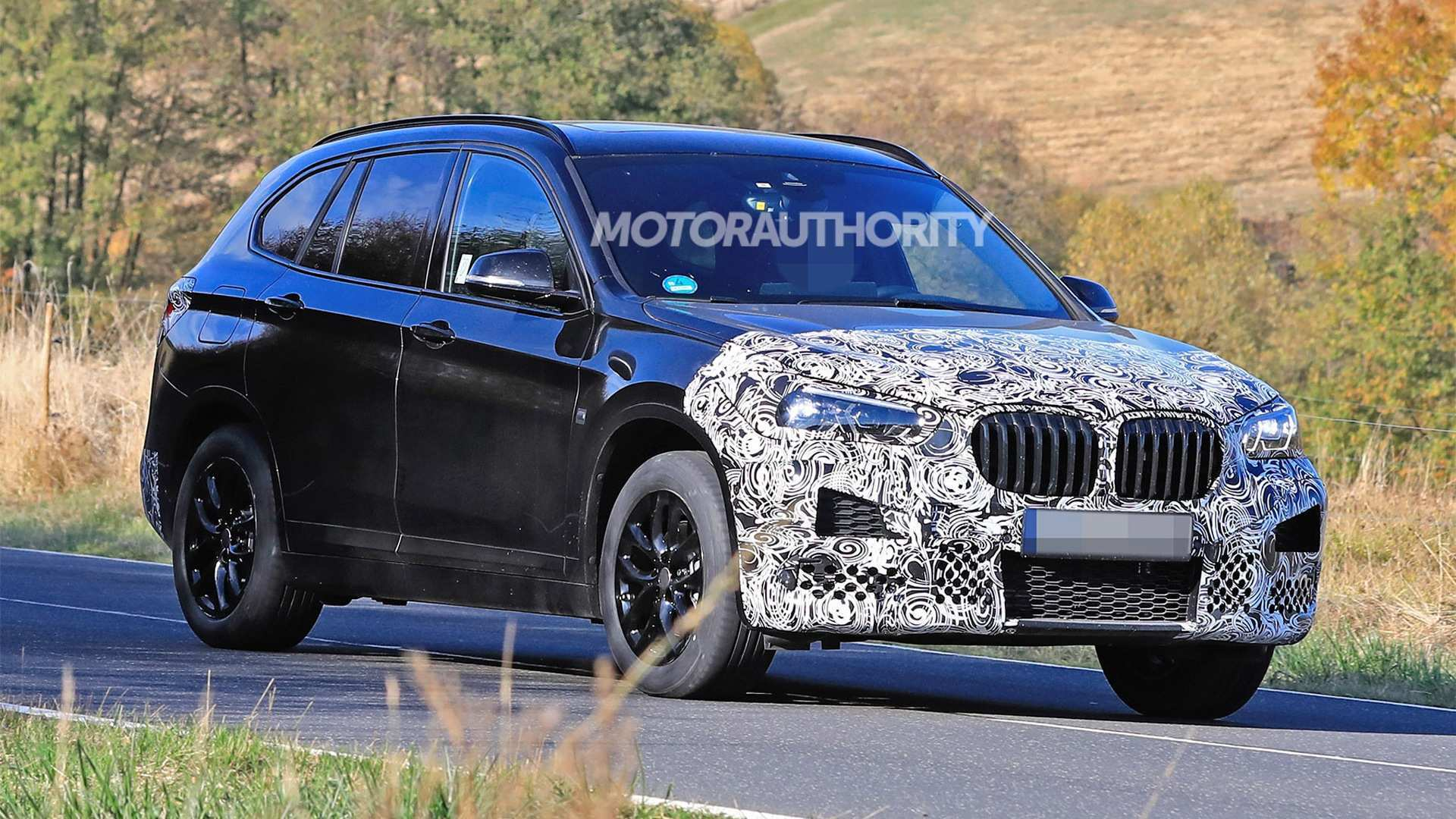 82 A Bmw X1 2020 Facelift Engine