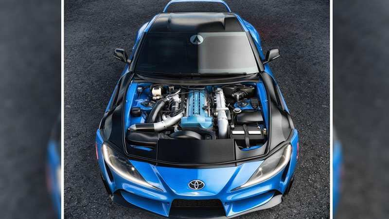 82 A Toyota Supra 2020 Engine Research New