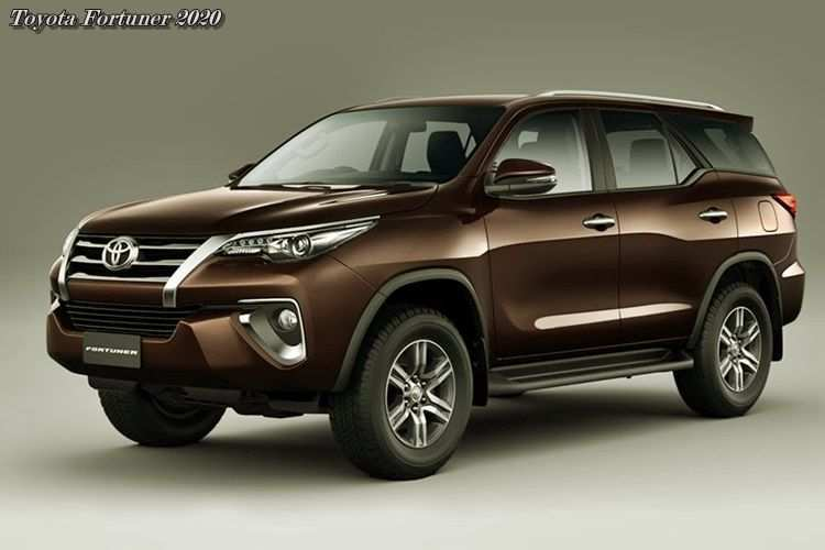 83 A Toyota New Fortuner 2020 Redesign And Concept