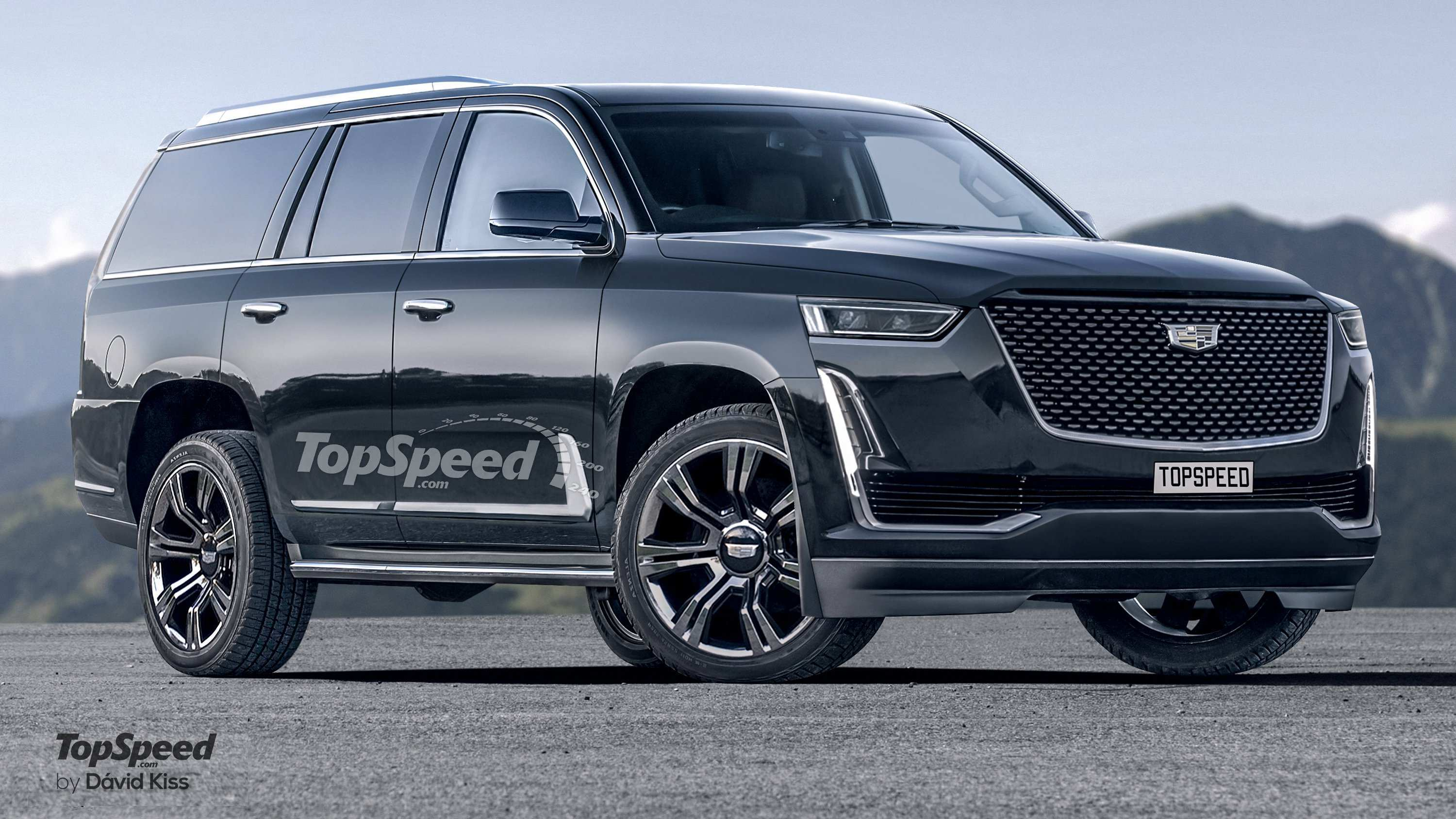 83 New What Will The 2020 Cadillac Escalade Look Like Spy Shoot