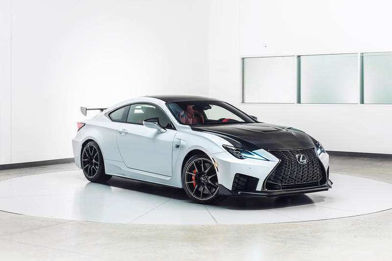 83 The 2020 Lexus Rc F Track Edition Images