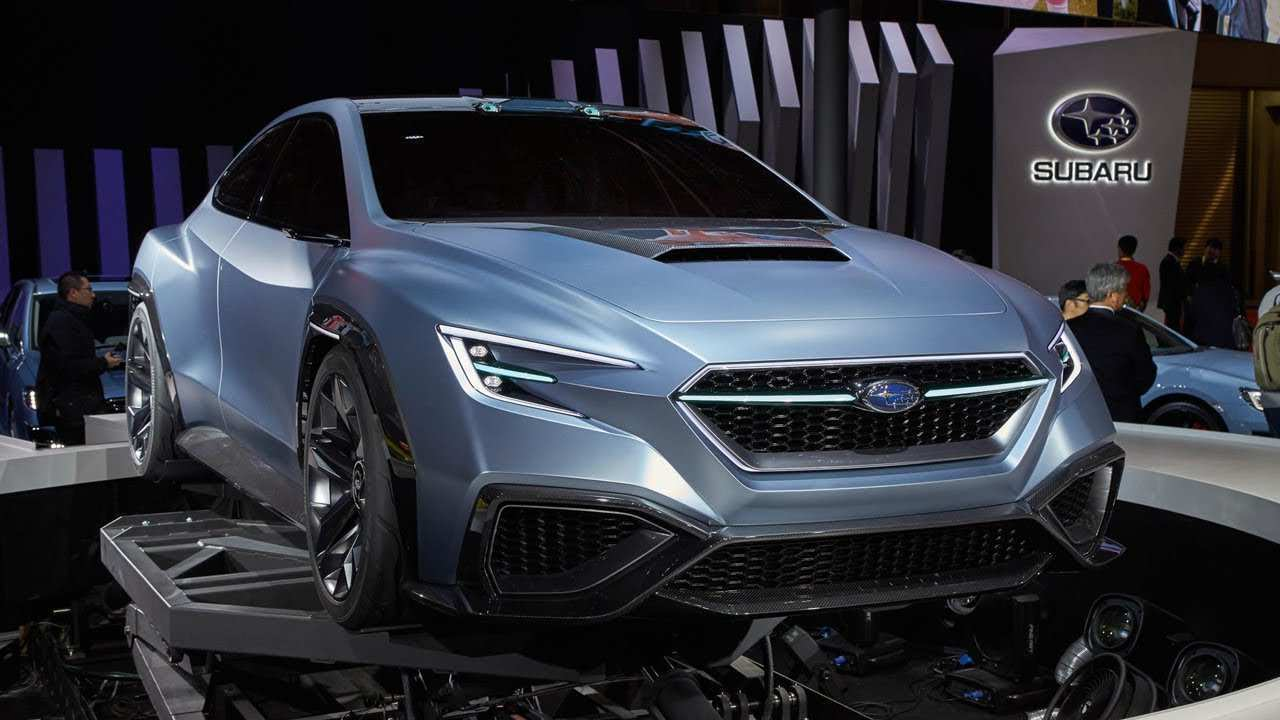 83 The Subaru Sti 2020 Concept Performance