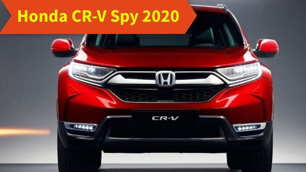 83 The Xe Honda Crv 2020 Overview