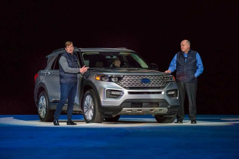 84 New Ford Unveils The New 2020 Explorer Research New