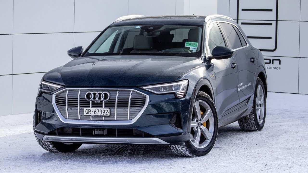 84 The Best Audi New Electric Car 2020 Review