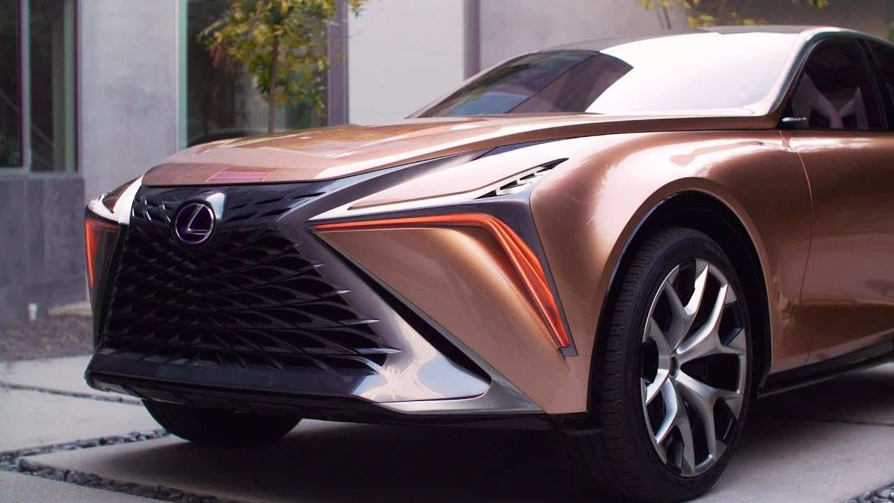 84 The Lexus Electric Car 2020 Spy Shoot