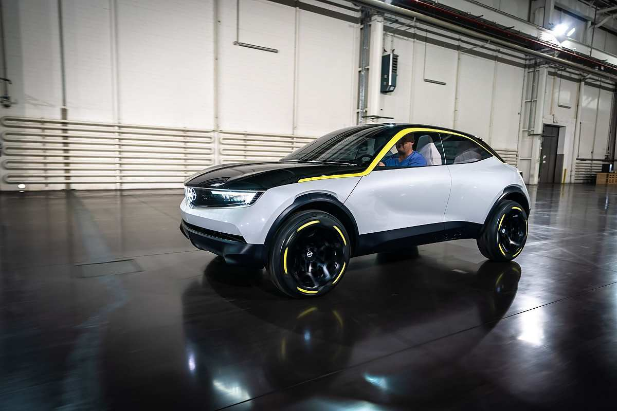 85 A Opel Gt X 2020 Spy Shoot