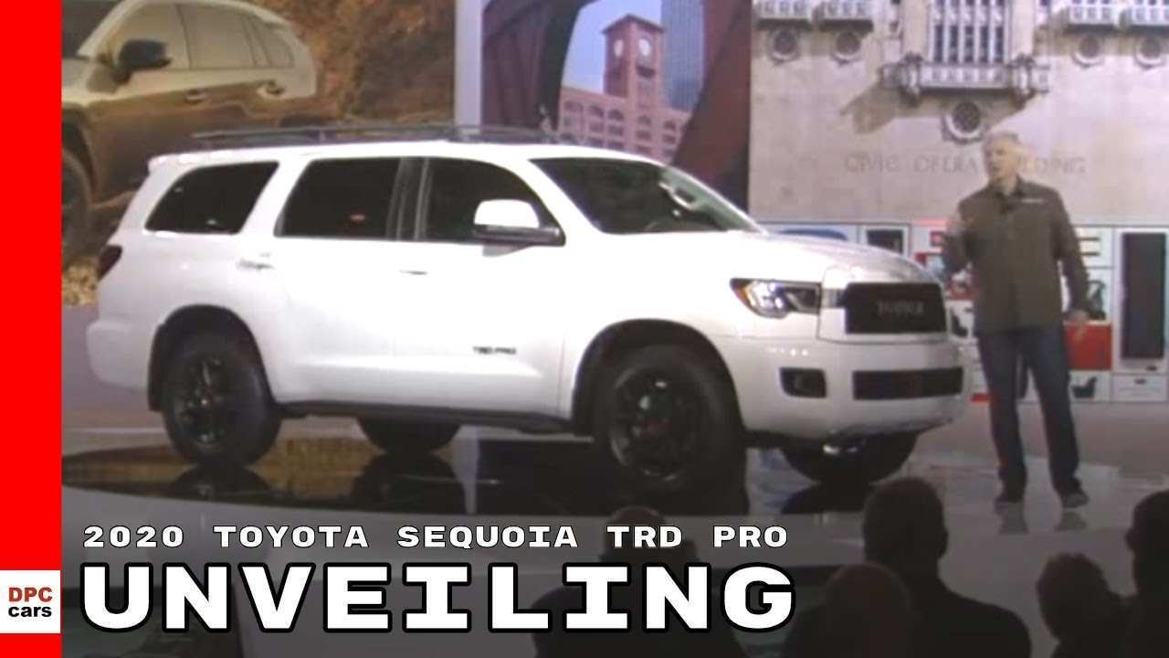 85 All New 2020 Toyota Sequoia Spy Photos Price And Review