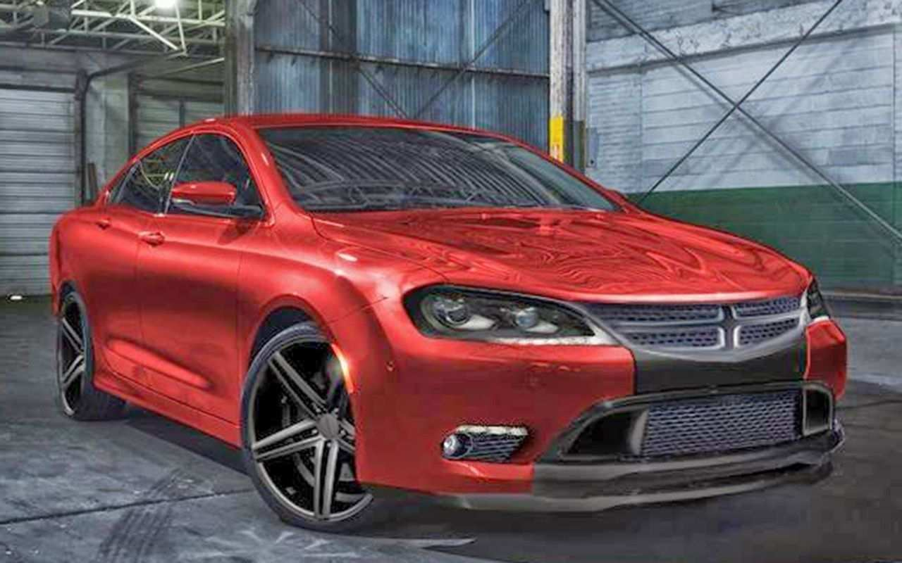 85 New Dodge Avenger 2020 Redesign And Review