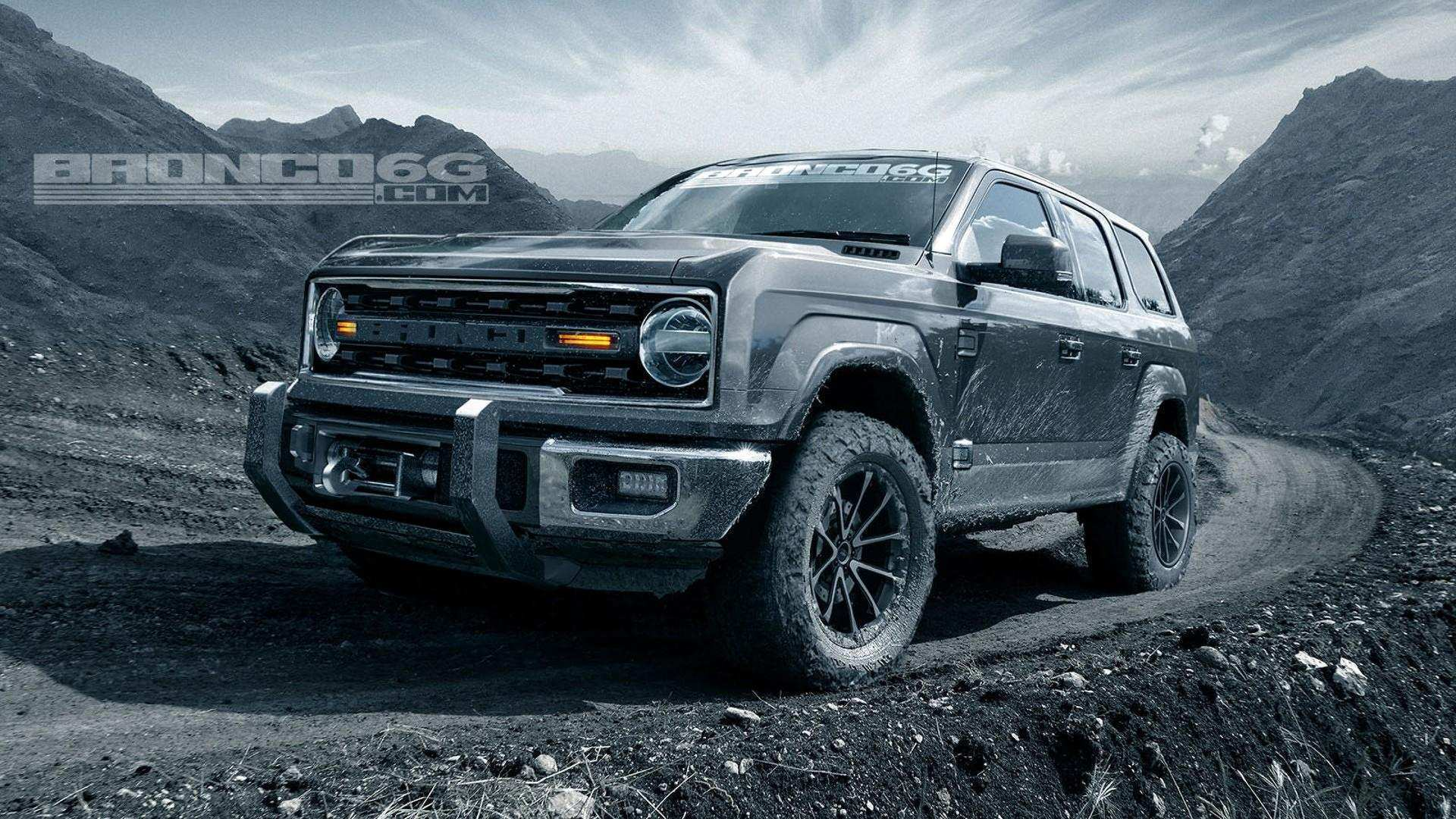 86 All New 2020 Ford Bronco Interior Review And Release Date