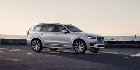 86 New 2020 Volvo Suv Spy Shoot