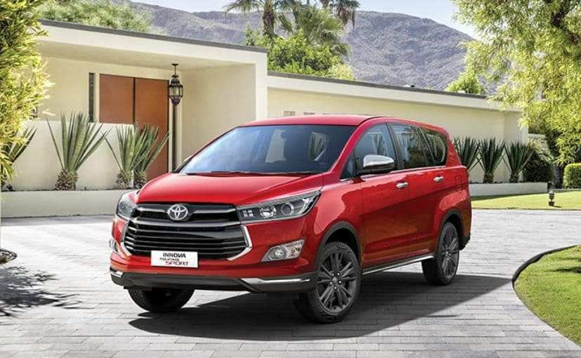 87 A Toyota Innova Crysta Facelift 2020 Price Design And Review