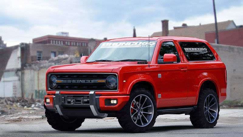 87 New 2020 Ford Bronco Design Style