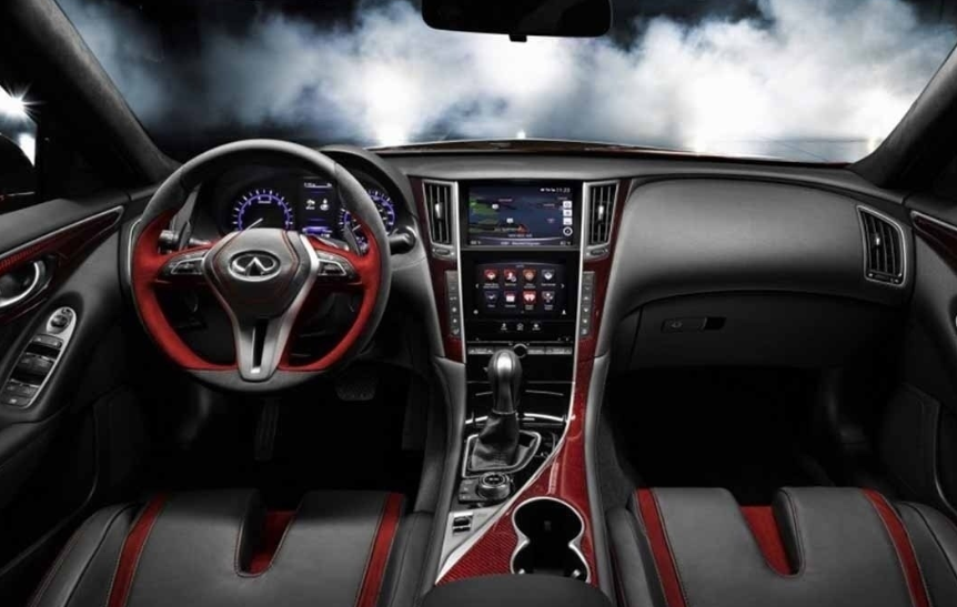 88 A 2020 Infiniti Q50 Interior Speed Test
