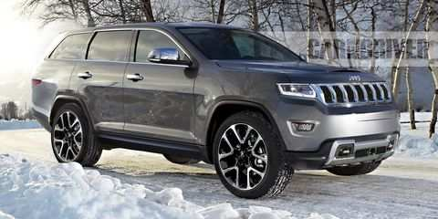 88 A Jeep Nuova Grand Cherokee 2020 Photos