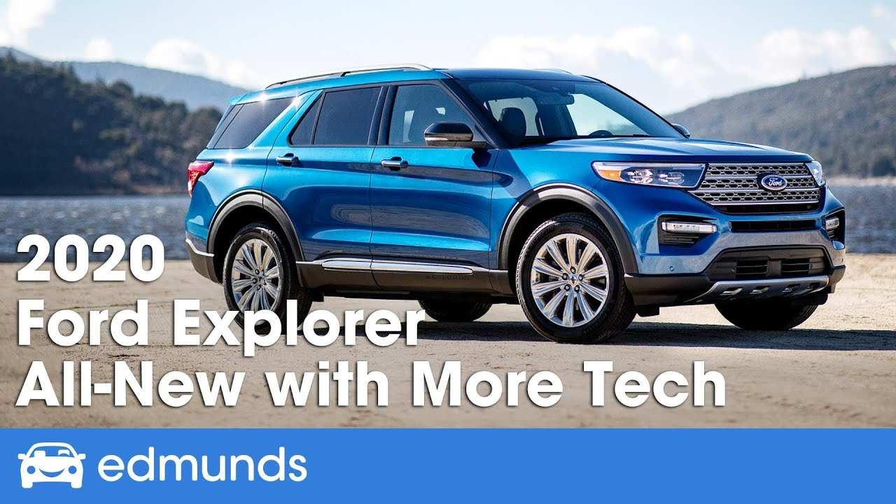 88 New Ford Unveils The New 2020 Explorer Speed Test