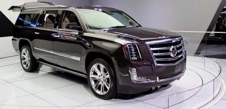 88 The Best 2019 Cadillac Escalade Redesign Release