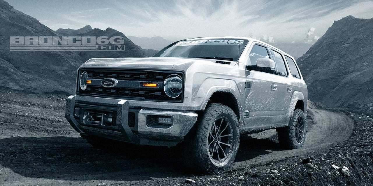 88 The Best Ford Bronco 2020 Engine Spy Shoot