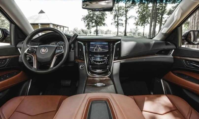89 All New Interior Of 2020 Cadillac Escalade Spesification