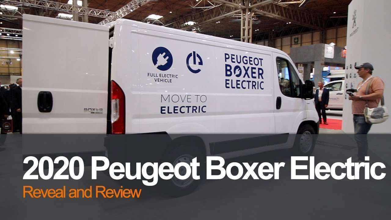 89 New Peugeot Boxer 2020 Images