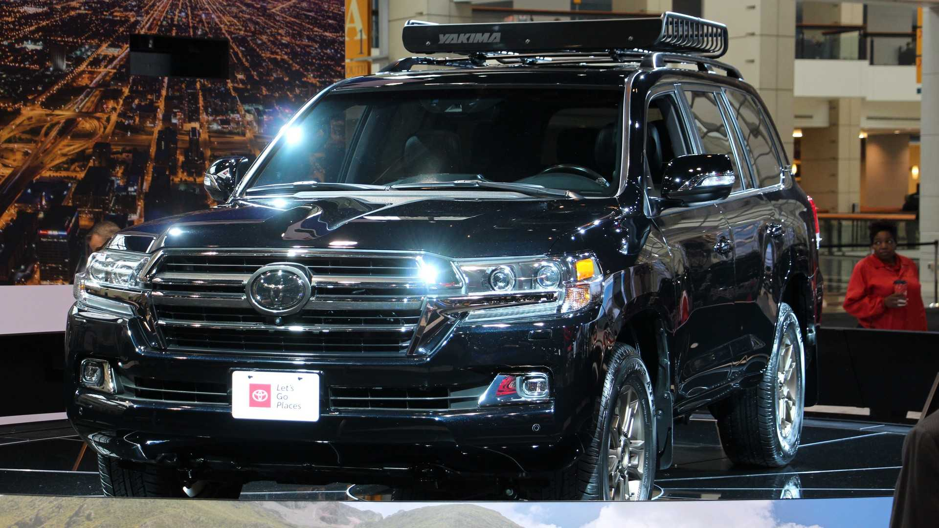 89 New Toyota New Land Cruiser 2020 Spy Shoot