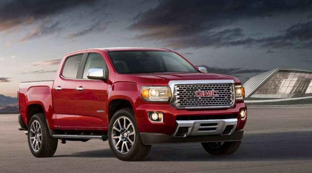 89 The Best 2020 Gmc Canyon Redesign Price