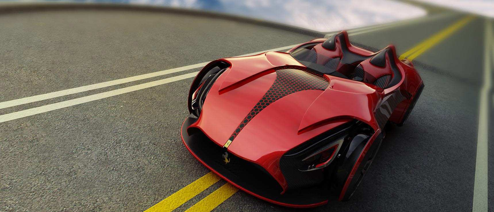 89 The Ferrari 2020 Supercar Redesign And Concept