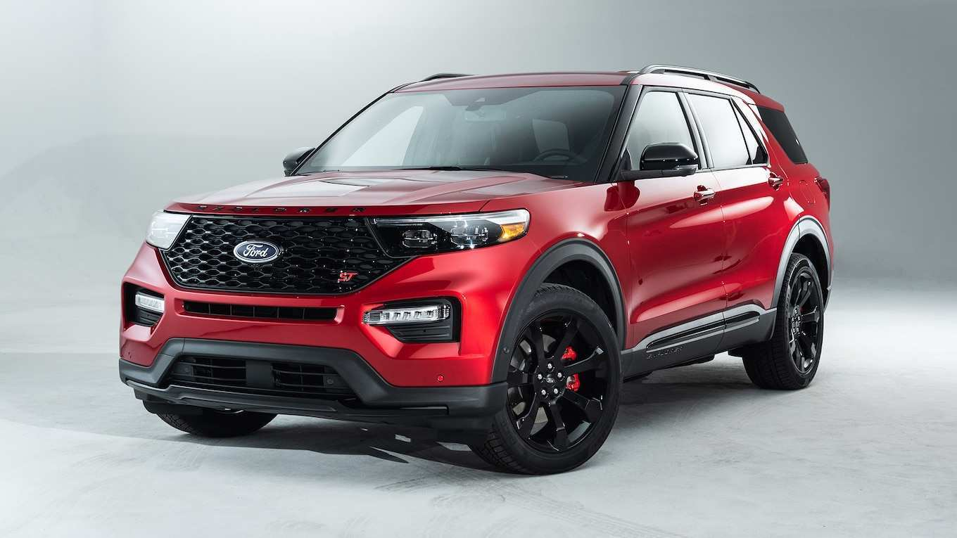 90 A 2020 Ford Explorer Availability Configurations