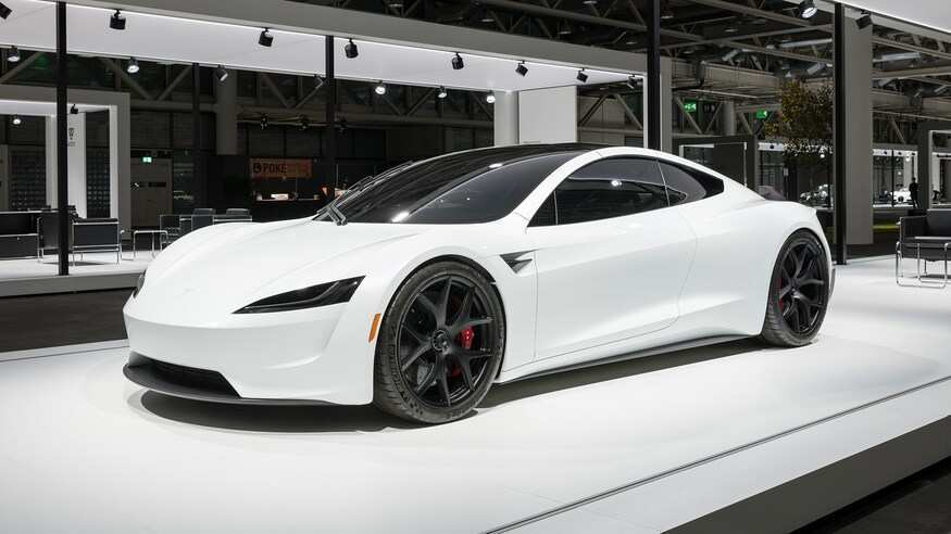 90 A New 2020 Tesla Spy Shoot