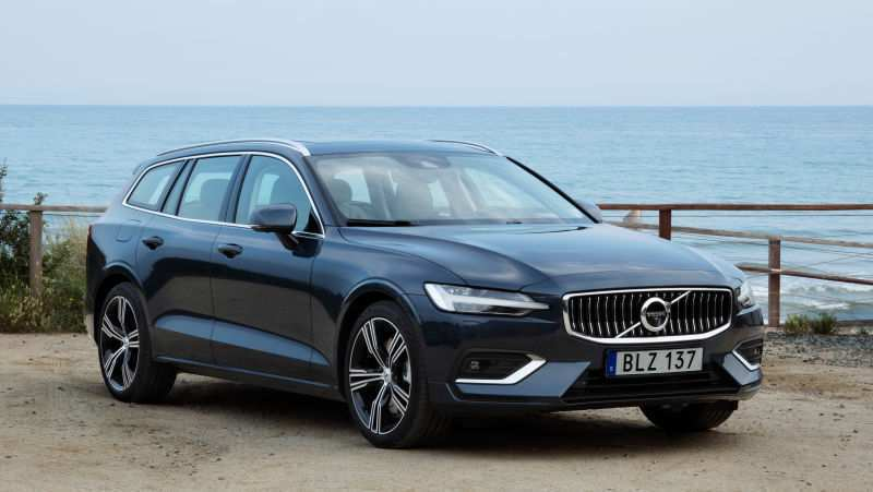 90 All New New 2019 Volvo V60 History