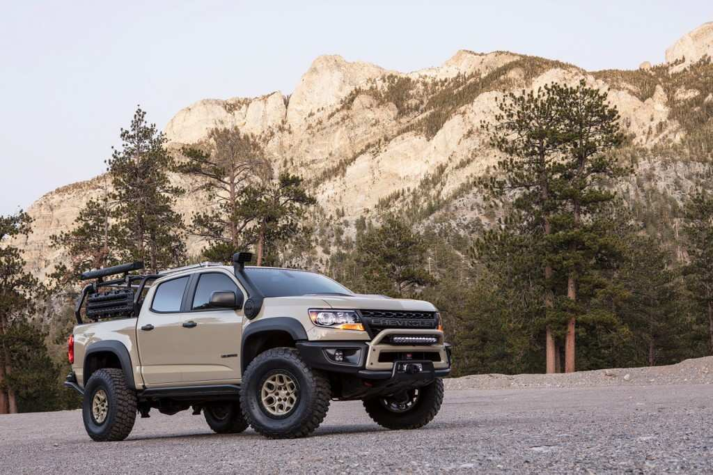 90 The 2020 Chevrolet Colorado Updates Exterior