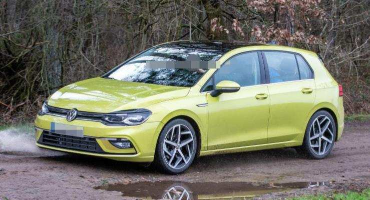 90 The 2020 Volkswagen Golf Mk8 Pictures