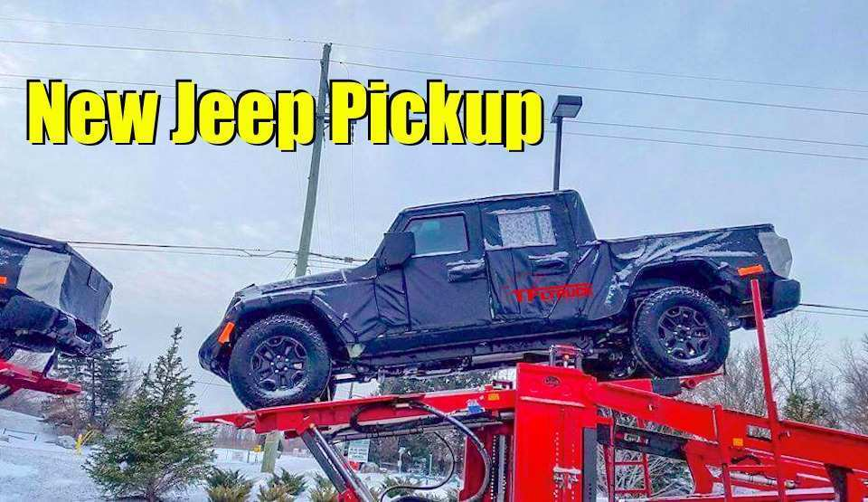 90 The Best 2019 Jeep Truck News History