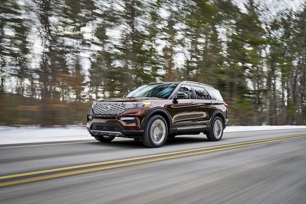 91 A Ford Unveils The New 2020 Explorer Configurations