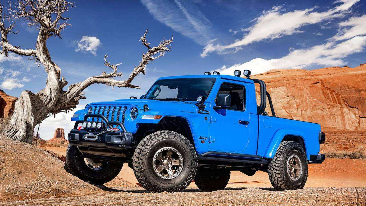 91 All New 2020 Jeep Gladiator 2 Door Release Date