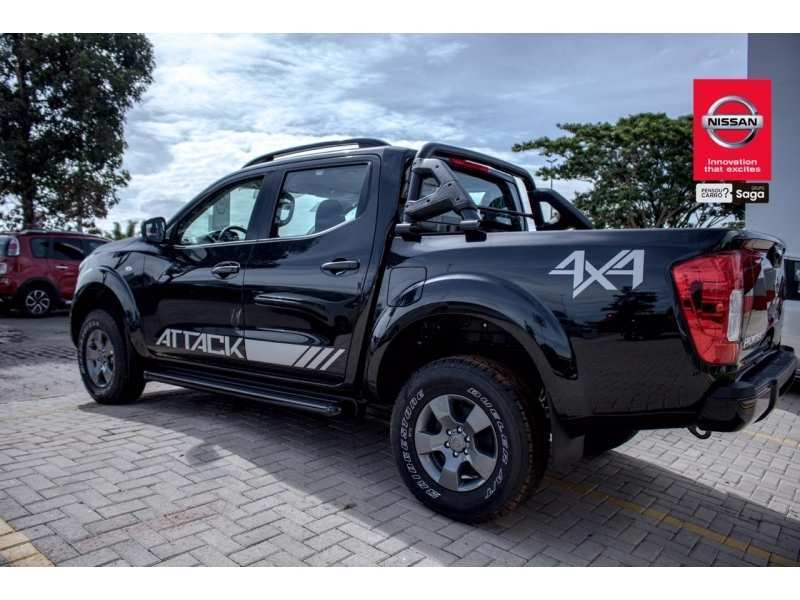 91 The 2019 Nissan Frontier Attack Model