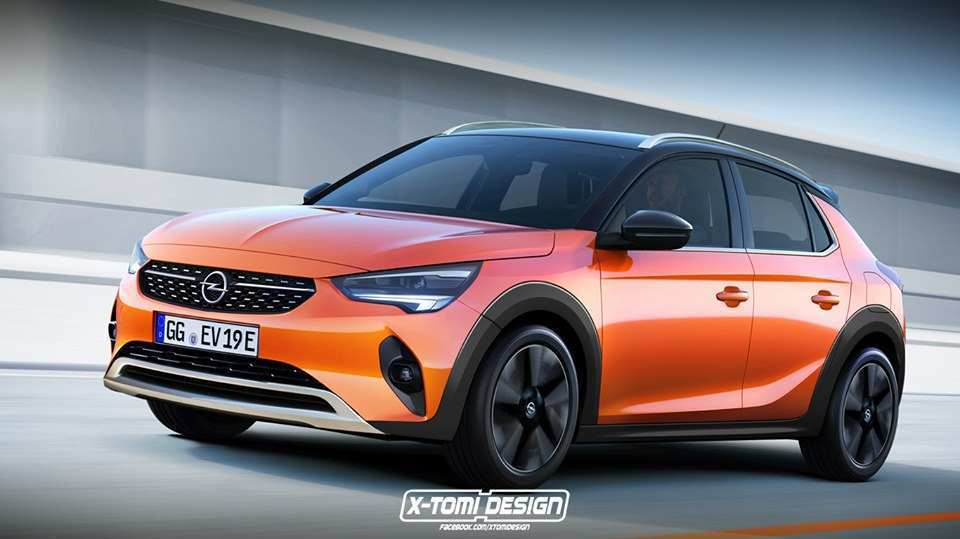 91 The Best Opel Corsa 2020 Rendering Photos