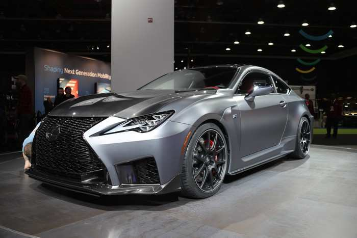 92 All New 2020 Lexus Rc F Track Edition Ratings