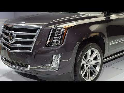 92 The Best Interior Of 2020 Cadillac Escalade Redesign And Concept