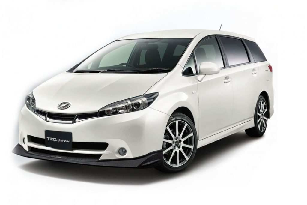 93 A 2019 Toyota Wish Concept