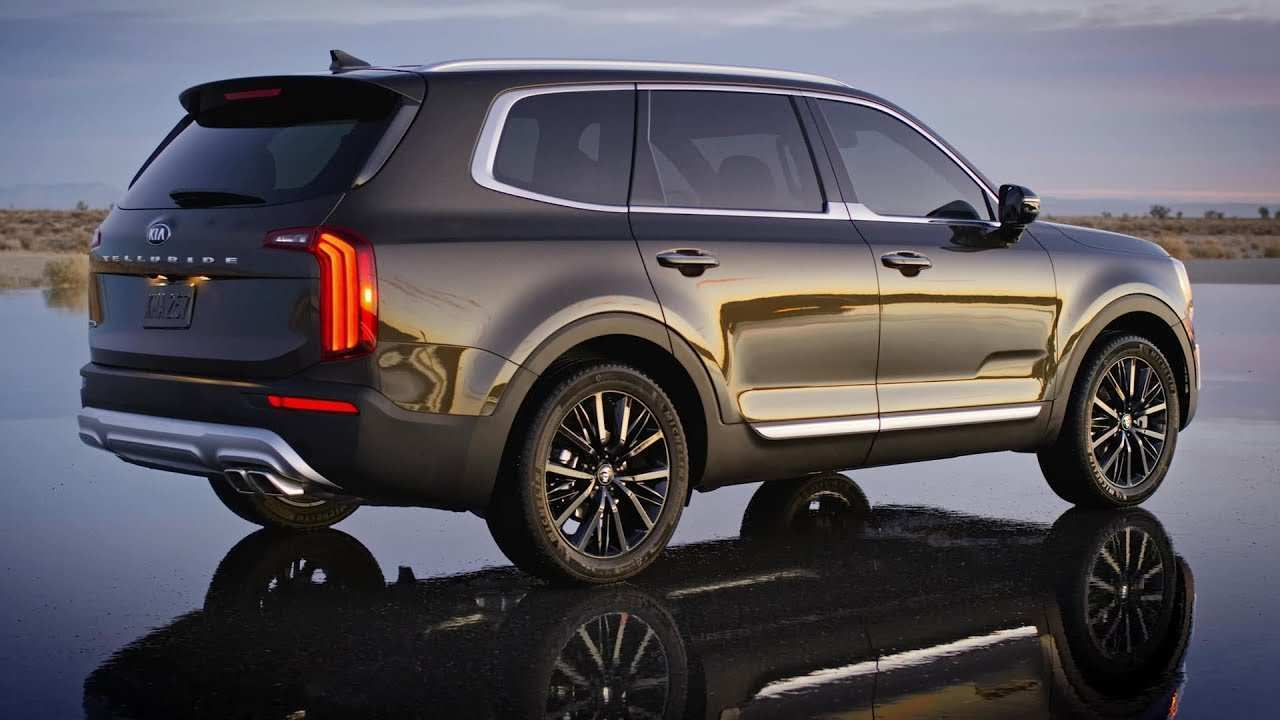 93 A 2020 Kia Telluride Youtube New Model And Performance