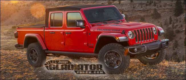 93 All New 2019 Jeep Truck News Configurations