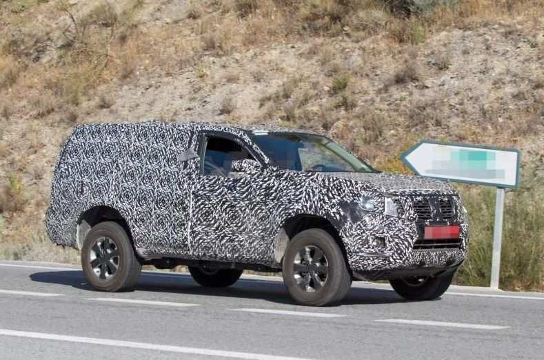 93 All New 2019 Nissan Pathfinder Spy Shots Images