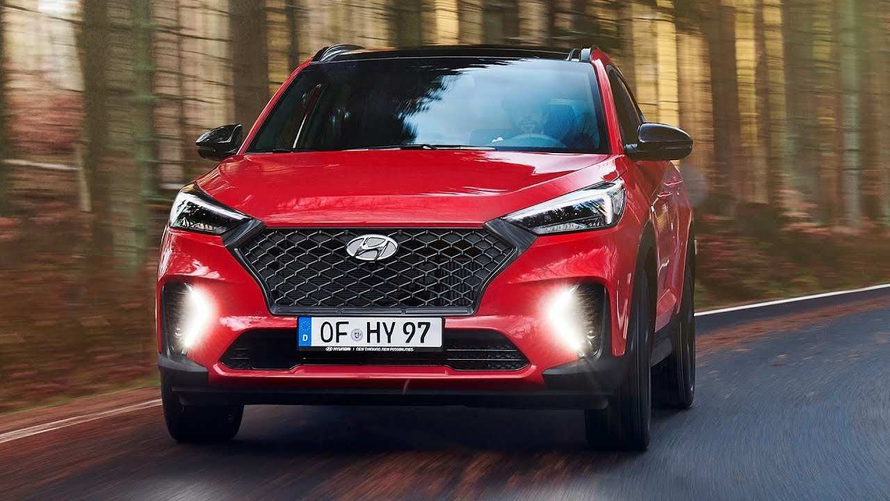 93 The Hyundai Tucson N Line 2020 First Drive