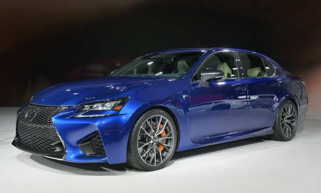 93 The Lexus Gs F 2020 Exterior