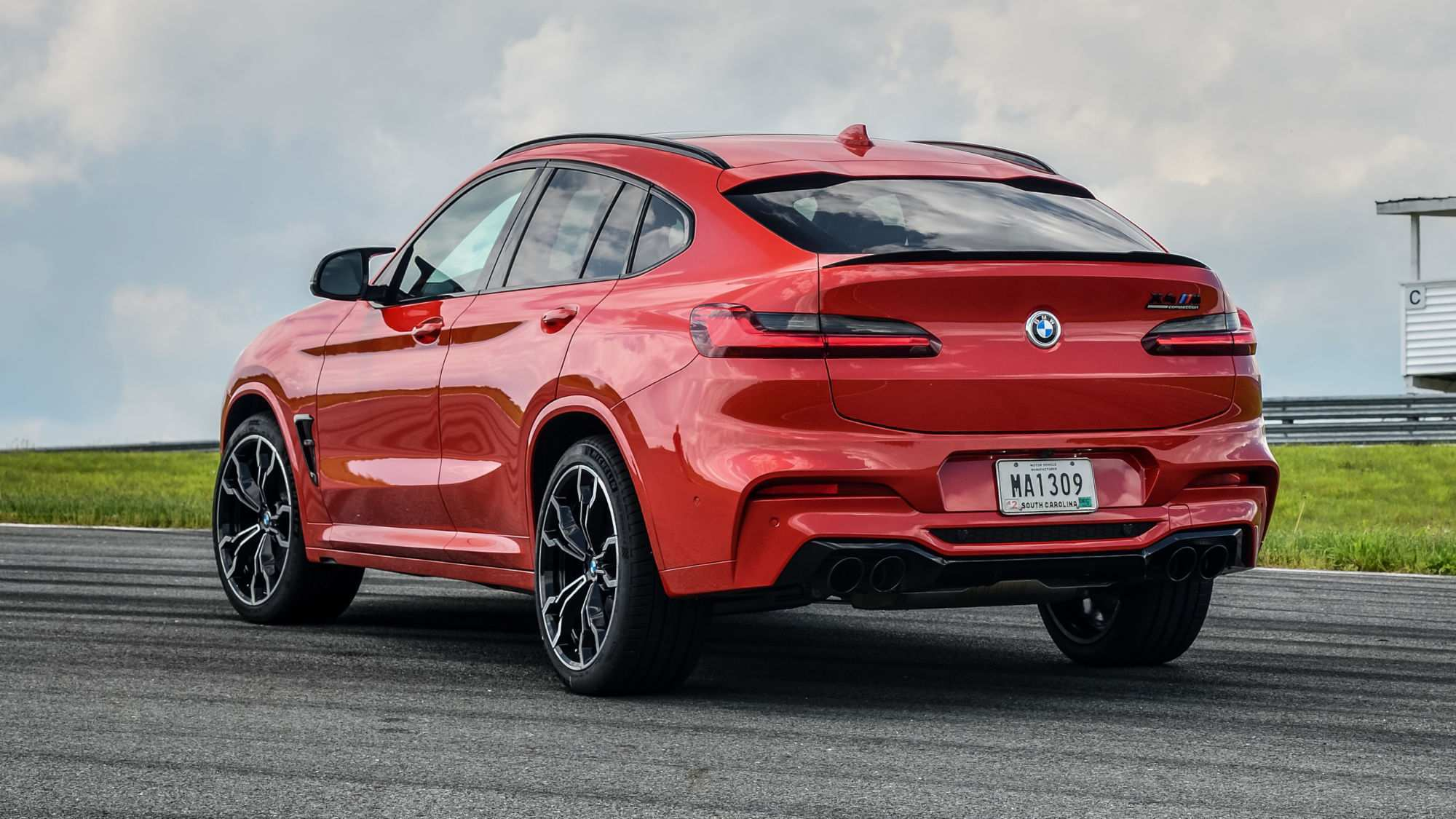 94 A 2020 Bmw X4M Speed Test
