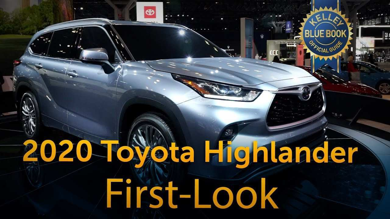 94 A Toyota Highlander 2020 Release Date Spy Shoot