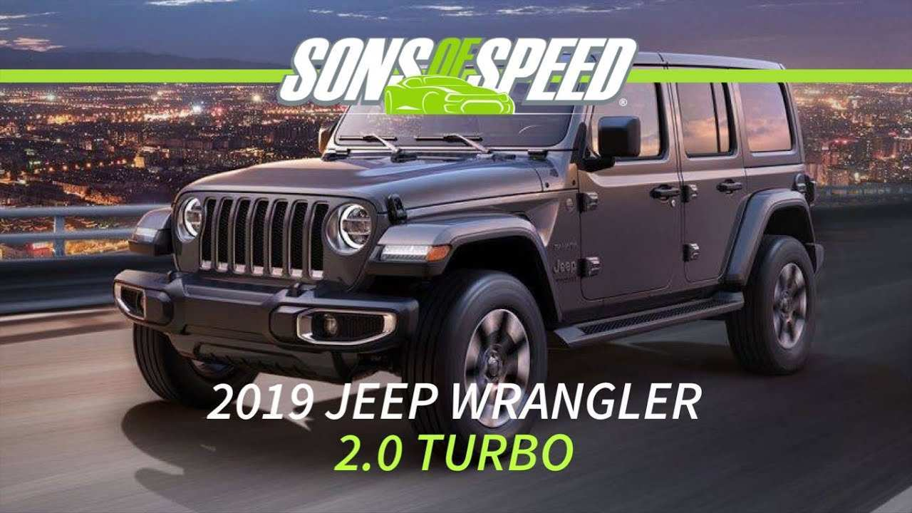 94 All New 2019 Jeep 2 0 Turbo Mpg Review